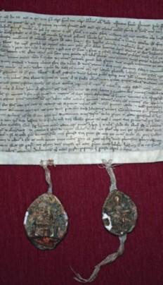 (1237 r.). Kopia, zbiory Muzeum Diecezjalnego w Płocku.
