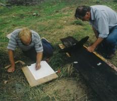Dokumentacja desek burty łodzi